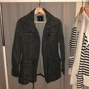 GAP utility jacket in dark grey